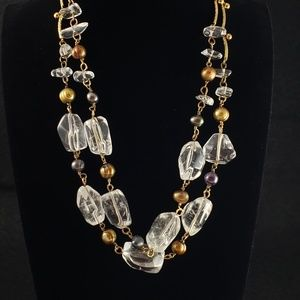 Tanner Jewelry - Vintage Tanner Necklace Real Pearls